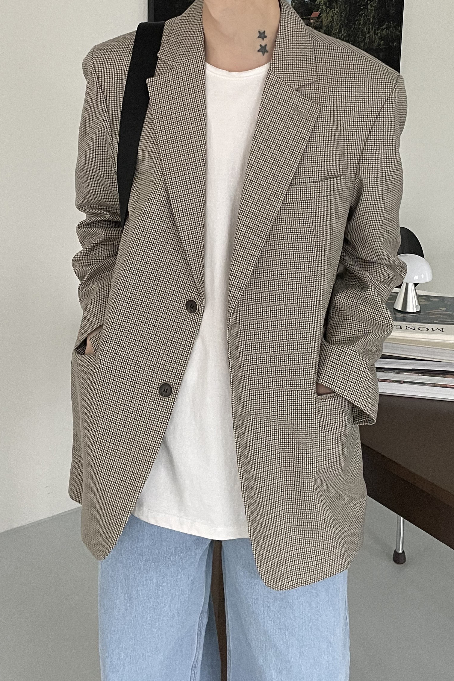 NAMED/ Standard Check Blazer