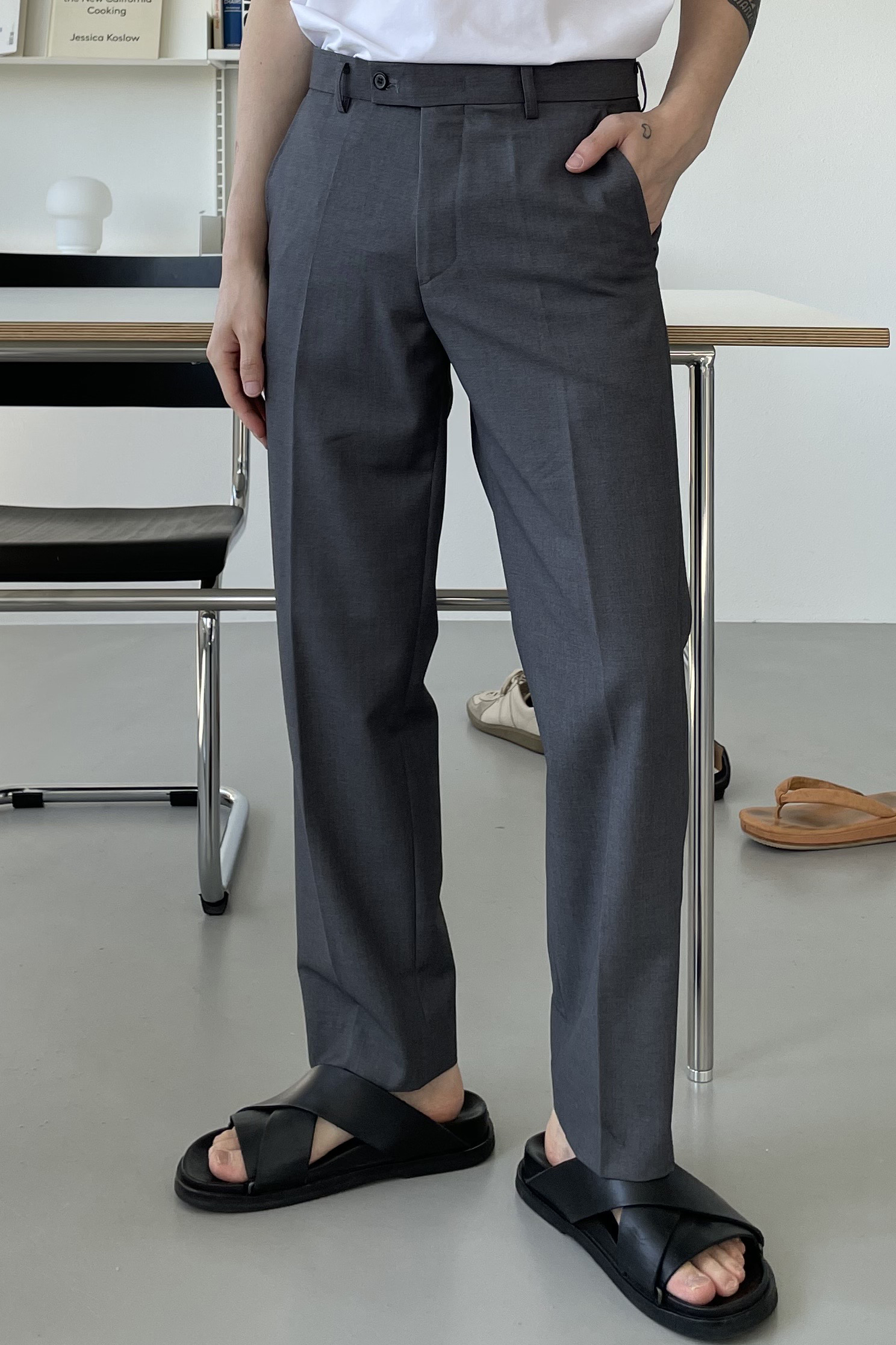 TALY/ Steady Straight Fit Pants